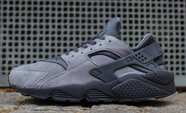 Air Huarache Grey Black