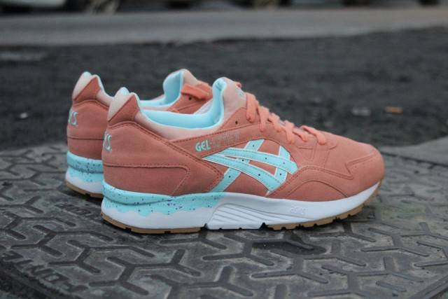 Femmes Asics Gel Lyte 5 - Product Asics Gel Lyte V Easterfull Bloom Pack Coral Reef Code Promo