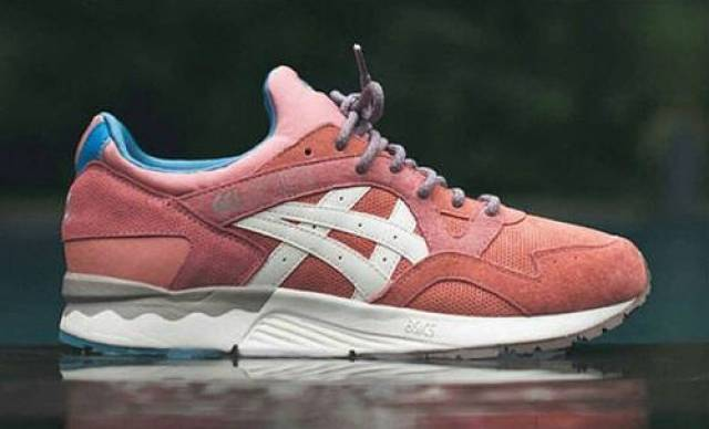 Ronnie Fieg x Asics Rose Gold Gel Lyte 5