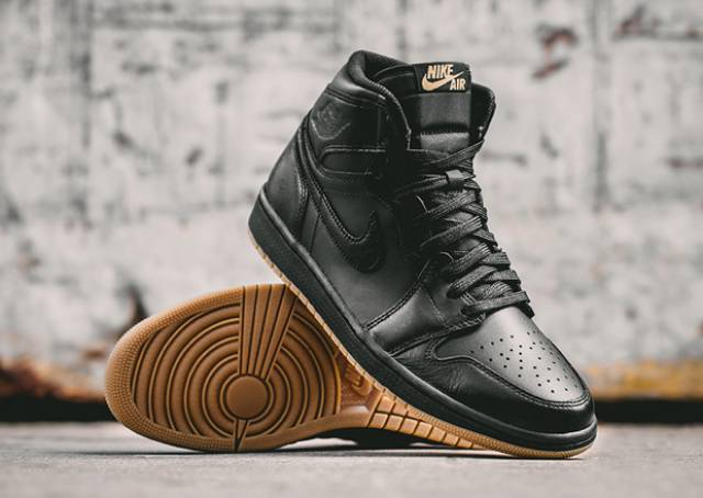 air jordan 1 retro high og black/gum buybuy
