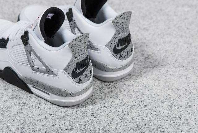 Nike Air Jordan Retro 4 Ciment