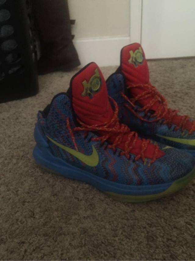 Nike Kd 5 Christmas (don\'t come out again) | Kixify Marketplace