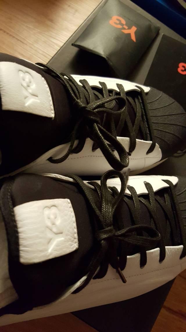 c29032e5fb33a Sz 11 Y-3 qasa shell black white adidas y3