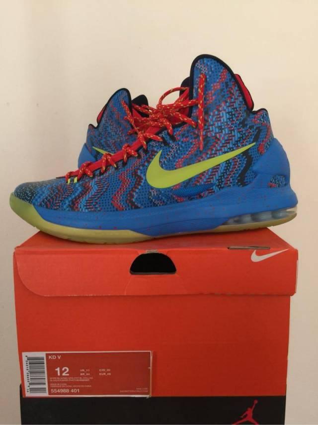 finest selection 52fa0 b2ce6 Nike KD V Christmas