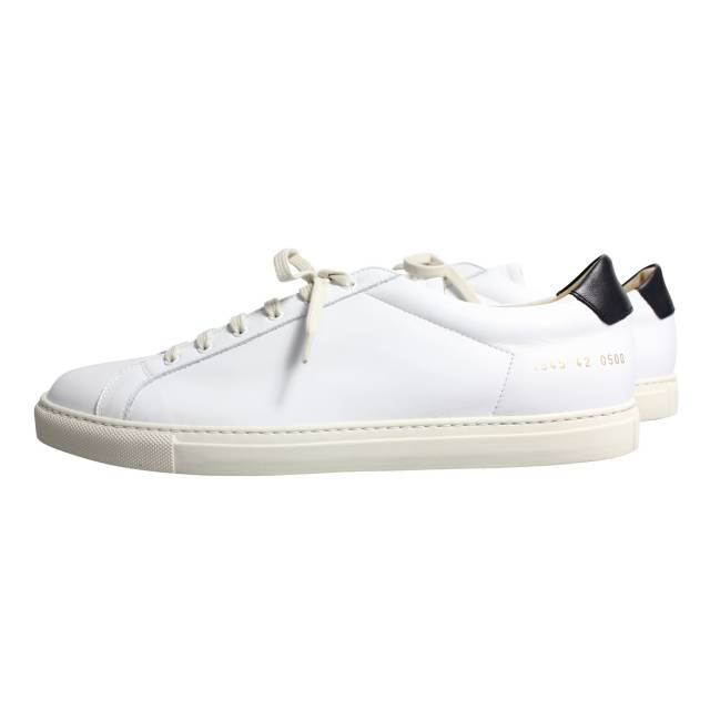 White and black Achilles Retro sneaker Common Projects 5nK8o7i