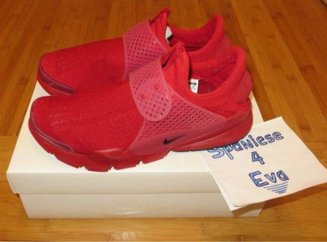 official photos e1616 26b48 Nike Sock Dart Independence Day Red 686058-660 Size 9.5