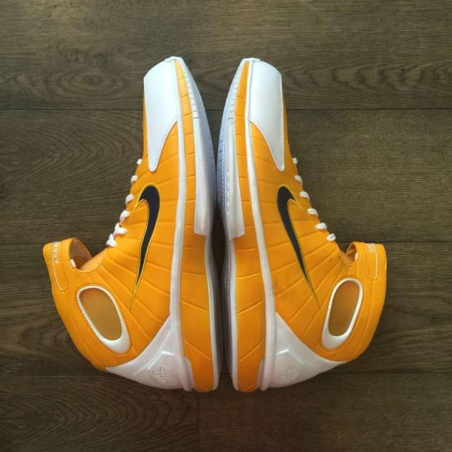 14f5517a7743cd Nike Air Zoom Huarache 2K4 Roy Hibbert Game Worn Basketball Shoe ...