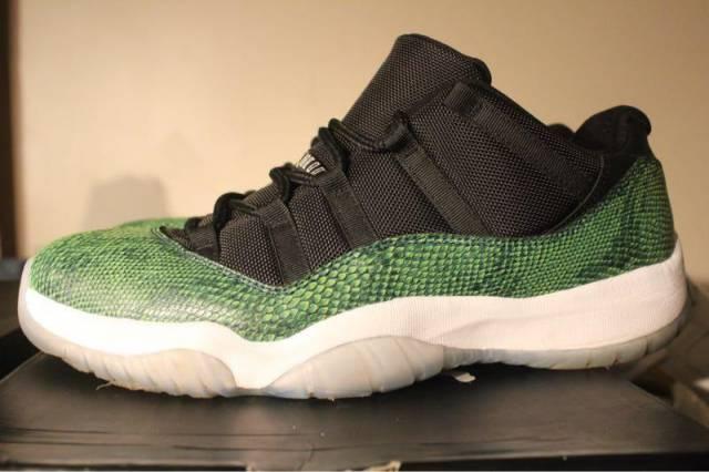 Jordan 11 Snake Skin Size 12 Pre Owned Kixify Marketplace
