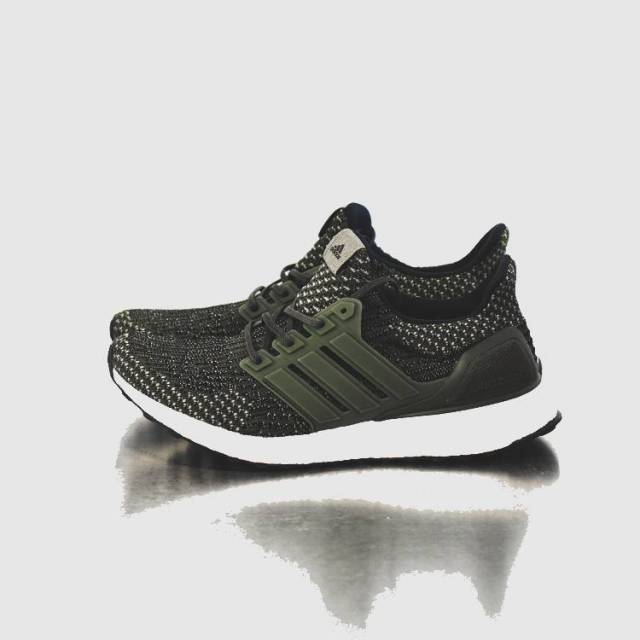 Adidas Ultra Boost 3.0 LTD Black Leather Cage BA 8924 New