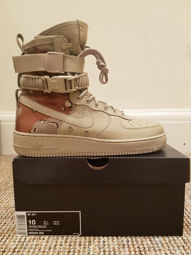 nike air force 1 special field desert camo ds nib sf af1. Black Bedroom Furniture Sets. Home Design Ideas