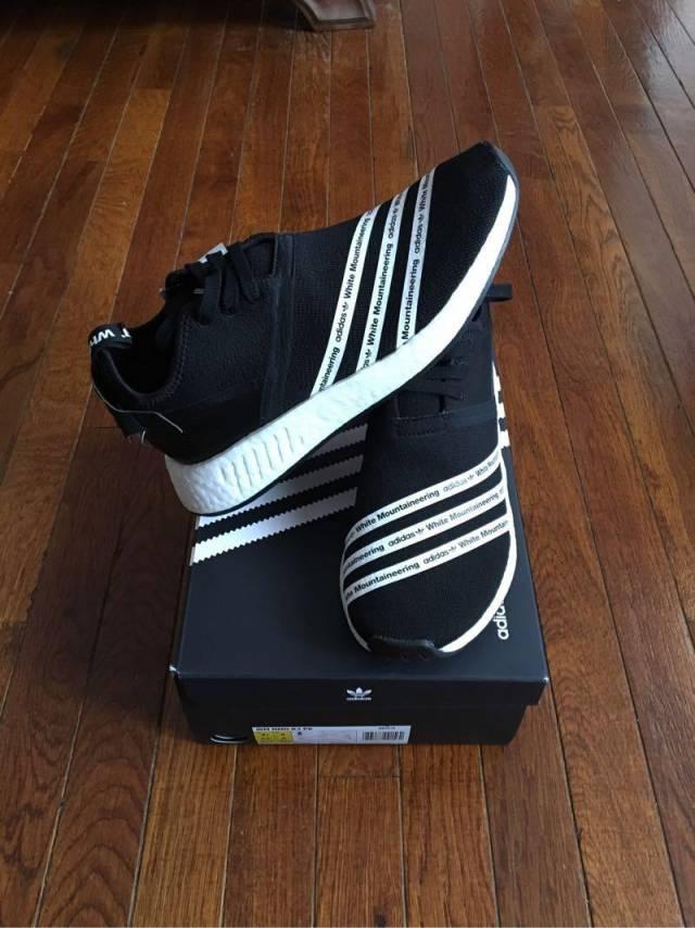 Cheap Adidas Nmd R1 W Talc Off White Cream Pk S76007 Women Size 5.5