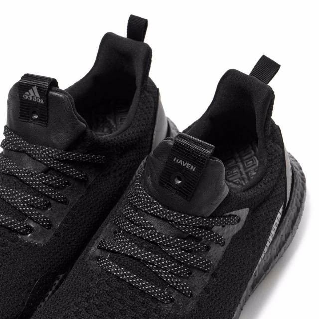 best service ad969 6b059 Adidas X Haven Ultra Boost Uncaged Triple Black