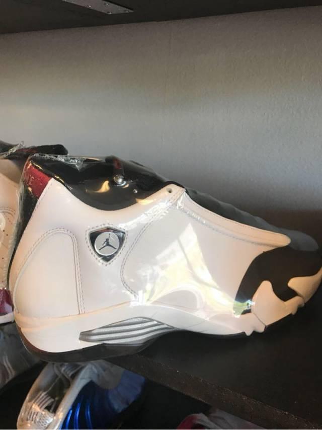 Jordan 14 black toe replacement box