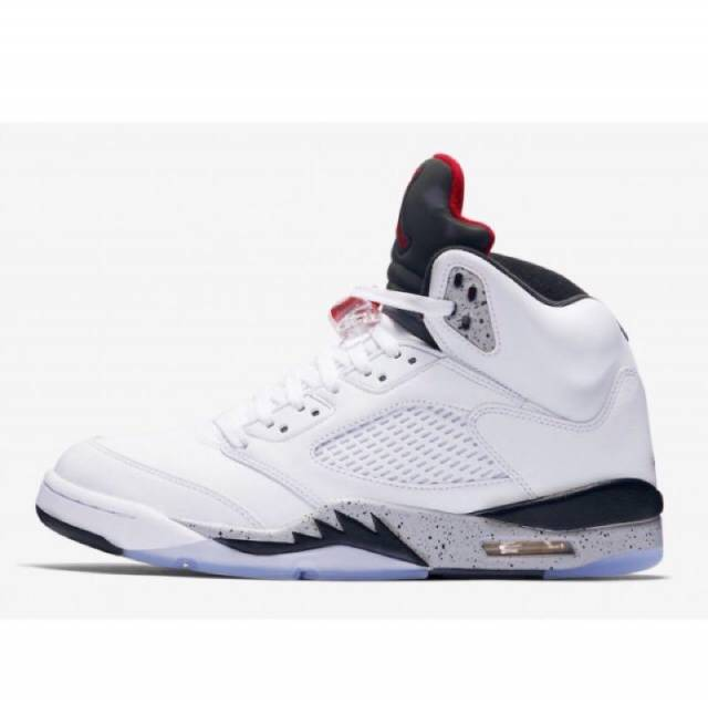 b02d24cc61d703 Air Jordan 5 Retro White Cement w Receipt (men s) Size 7-14