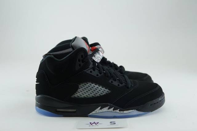 buy online 22b0a 7e847 AIR JORDAN 5 RETRO OG BG BLACK METALLIC SZ 5.5Y Kids DS