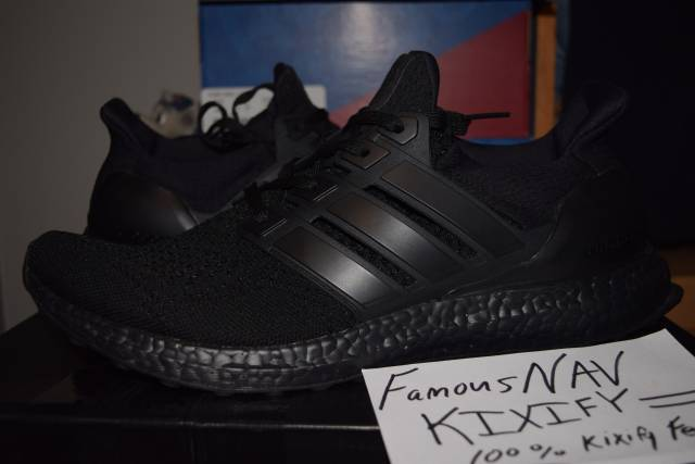 competitive price a84b8 39929 Adidas Ultra Boost Triple Black