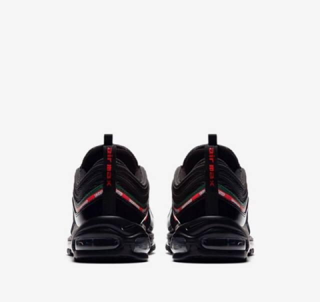 73b32fe4a77f Undefeated x Nike Air Max 97 Black w Receipt (men s) Size 7-14 ...