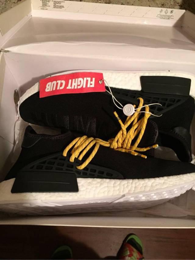 wholesale dealer fc64f b16a6 Pharrell X Adidas Nmd Human Race - Black