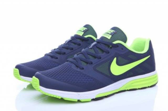 Nike air zoom fly 2 men's running shoes in navy