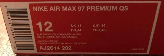 air max 97 bere