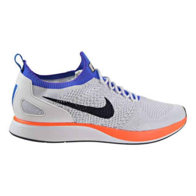 Nike Air Zoom Mariah Flyknit Racer Men's Shoes White/Hyper Crimson  918264-100