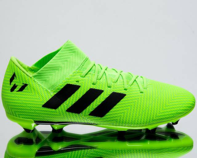 buy popular 8742f 2704d Adidas Nemeziz Messi 18.3 FG Mens Soccer Football Cleats New Solar Green  DB2113