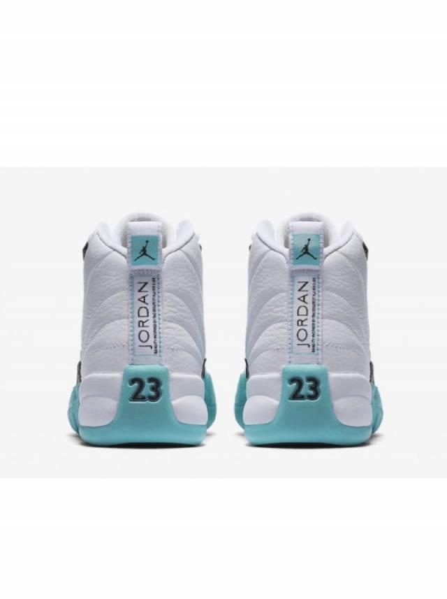 Air Jordan 12 Retro Light Aqua White
