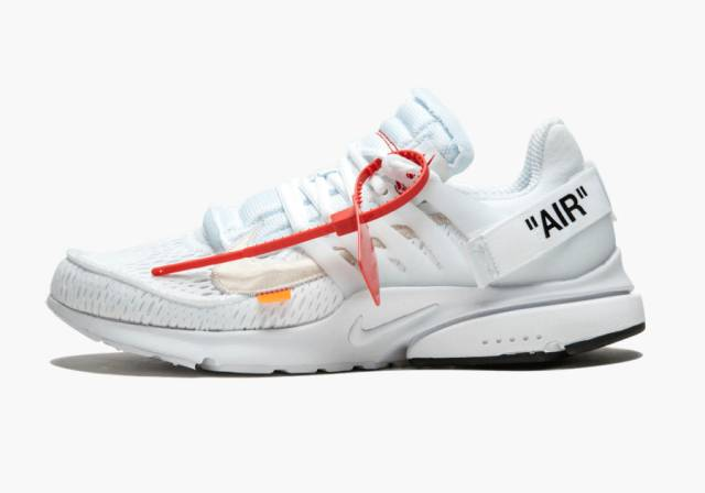 detailed look 5944b 3afd2 OFF-WHITE x Nike Air Presto White