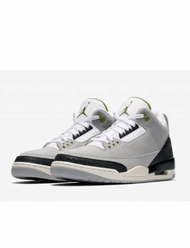 Air Jordan 3 Retro Chlorophyll Smoke