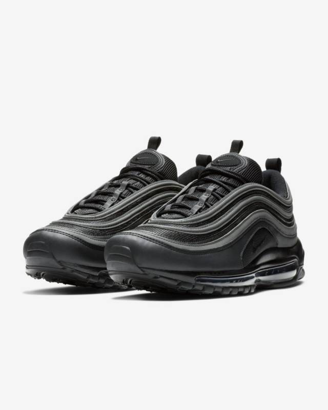 Nike Air Max 97 Bq4567 001 Triple Black 1997 Og Black