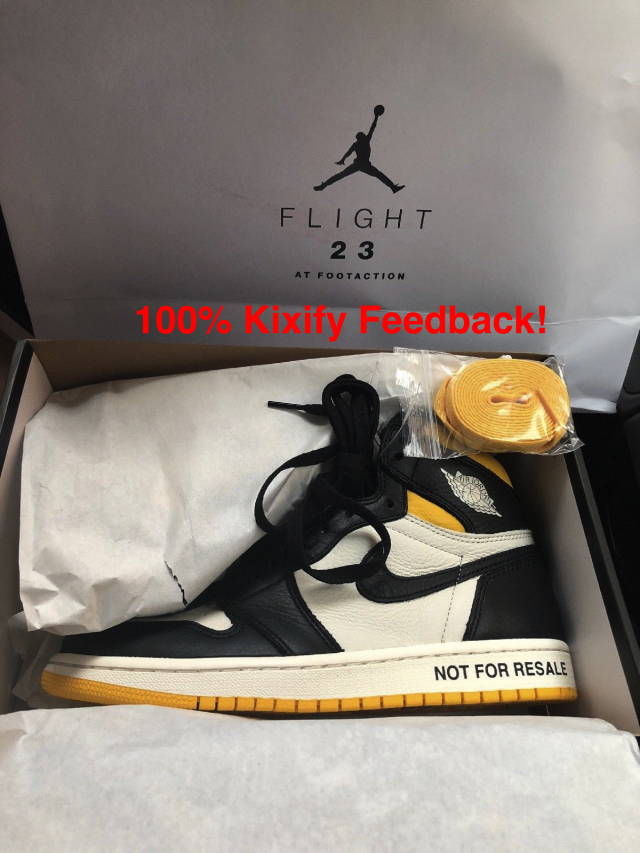 27ce75b305a8 Air Jordan 1 Not for Resale No L s Varsity Maize Yellow