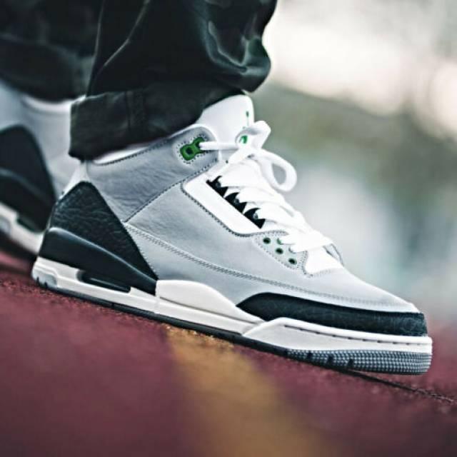Nike Air Jordan 3 Chlorophyll Tinker