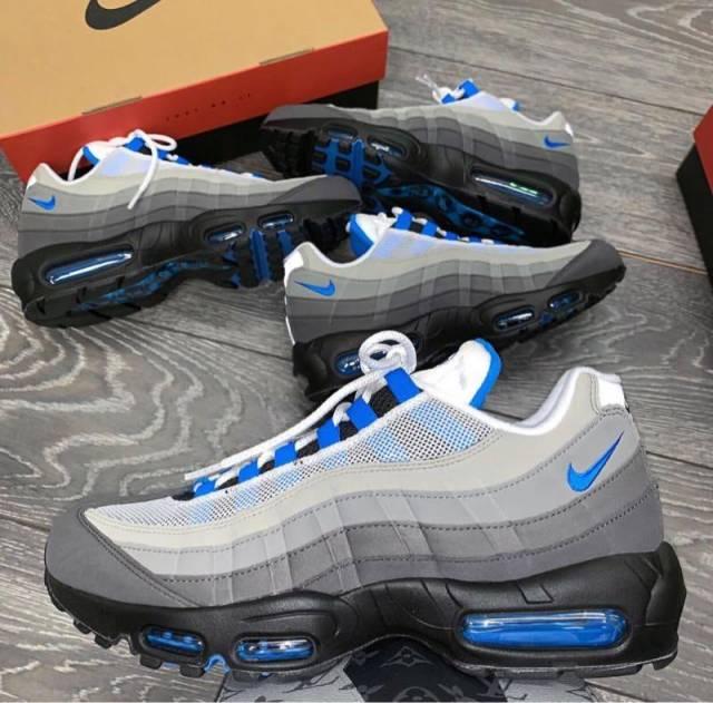 Nike Air Max 95 Crystal Blue  9bd195f36
