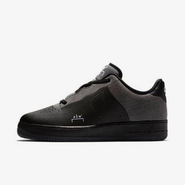 super popular 8f326 205cd A-COLD-WALL x Nike Air Force 1 Low Black ACW BQ6924-001 US11