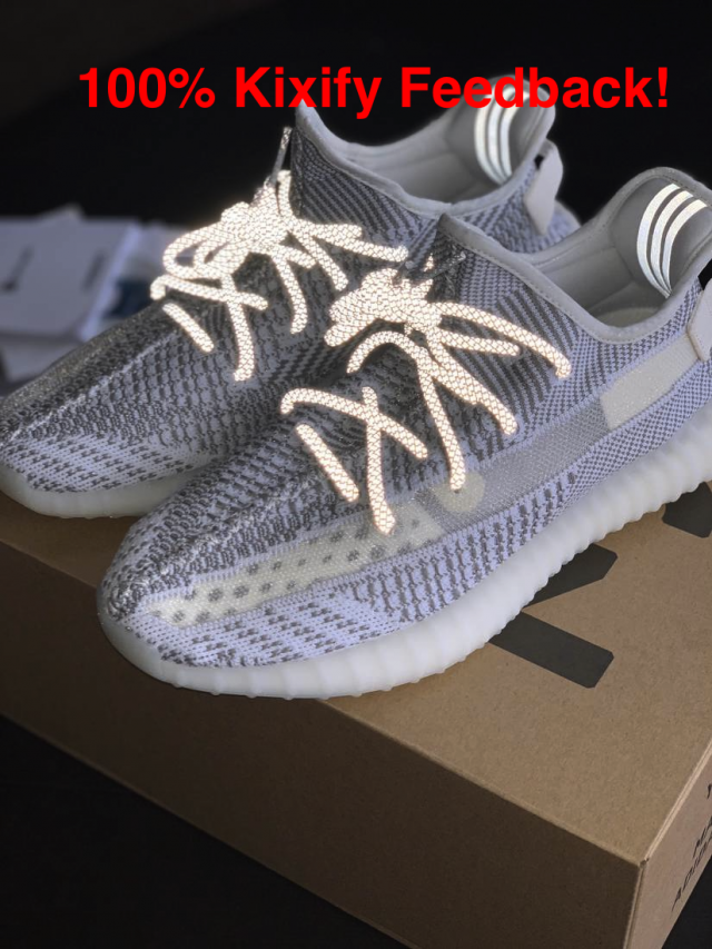 100 Authentic adidas Yeezy Boost 350 V2 Static