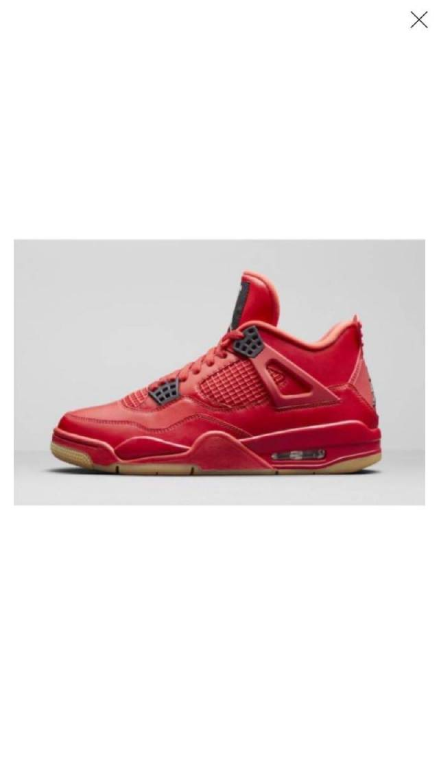 409289b108182 Air Jordan 4 Retro Singles Day Red Gum (men s) Size 3.5-12.5 ...