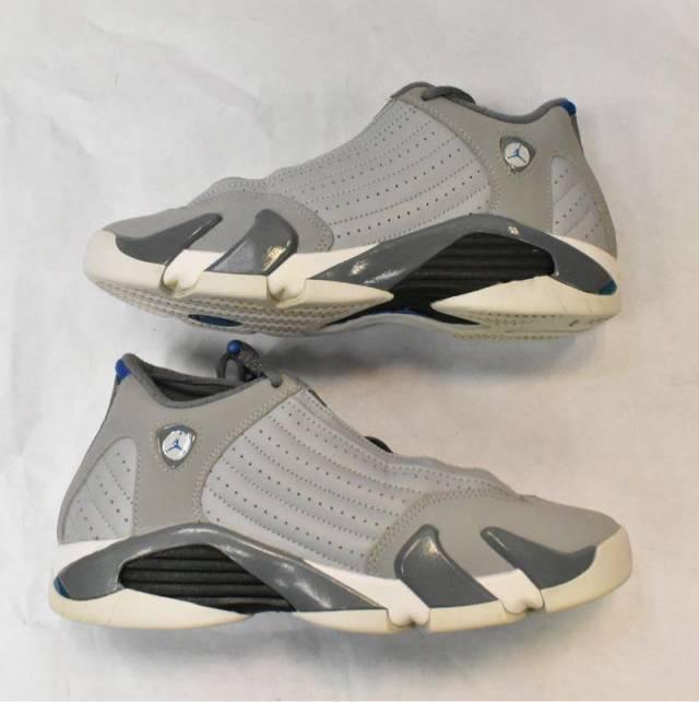 the latest 30d79 2fb56 Vnds Jordan 14 Retro Wolf Grey