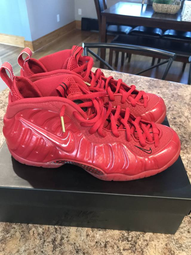 big sale 35acb a0b04 Nike Air Foamposite Pro - Gym Red | Kixify Marketplace