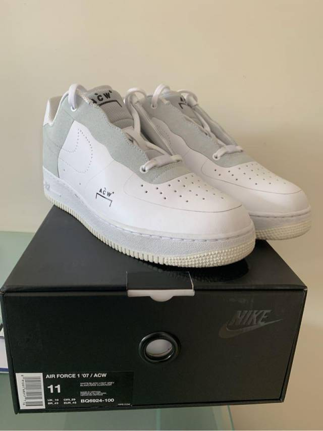 official photos 8e733 e076d A-cold-wall* X Nike Air Force 1 Low White