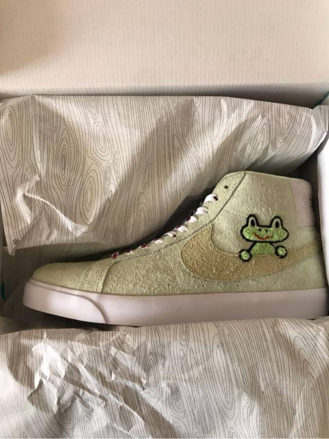 buying new 100% quality cheap for discount Frog Skateboards X Nike Sb Blazer Mid