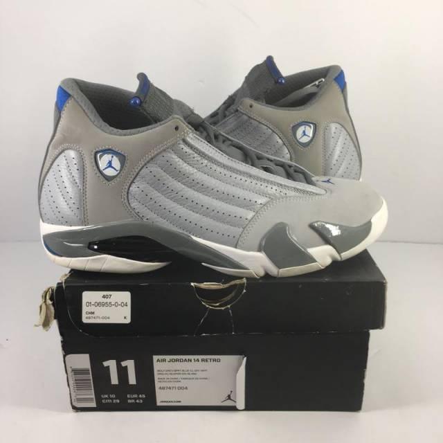 timeless design 13178 4a7c4 Air Jordan 14 - Sport Blue