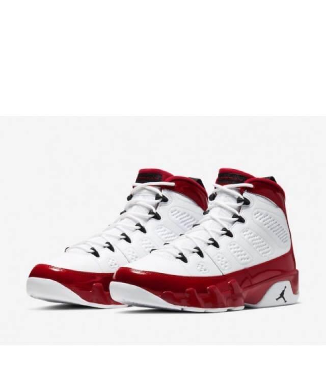 Air Jordan 9 Retro Gym Red White Black
