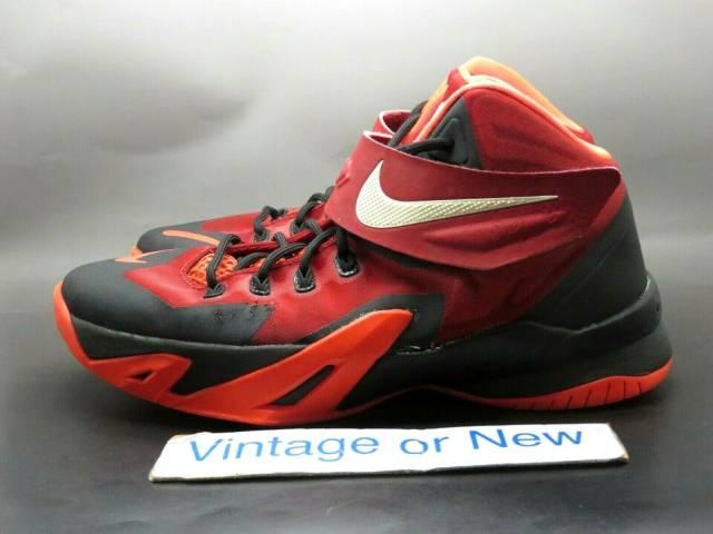 Nike Zoom LeBron Soldier 8 Black Gym