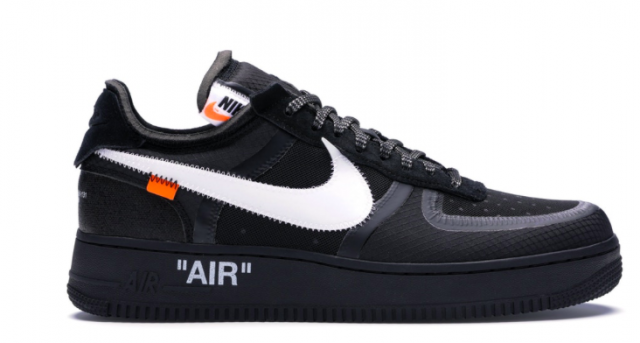 Air Force 1 Low Off White Volt Black And White Kixify Marketplace