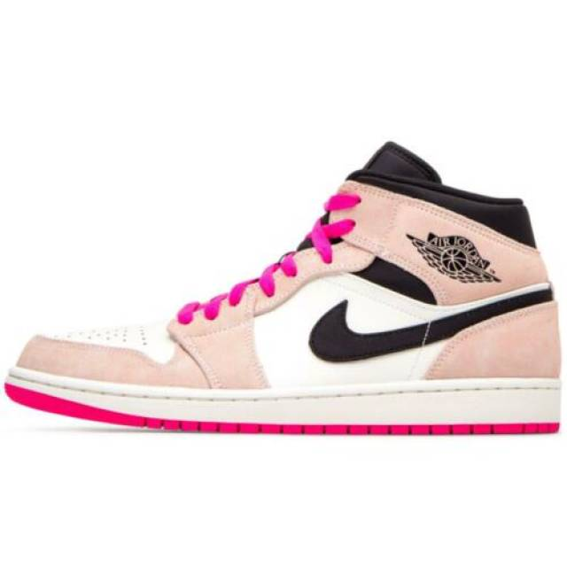 Nike Air Jordan 1 Mid SE Hyper Pink