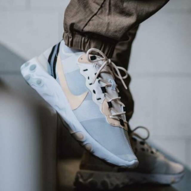 Nike React Element 55 Trainer White
