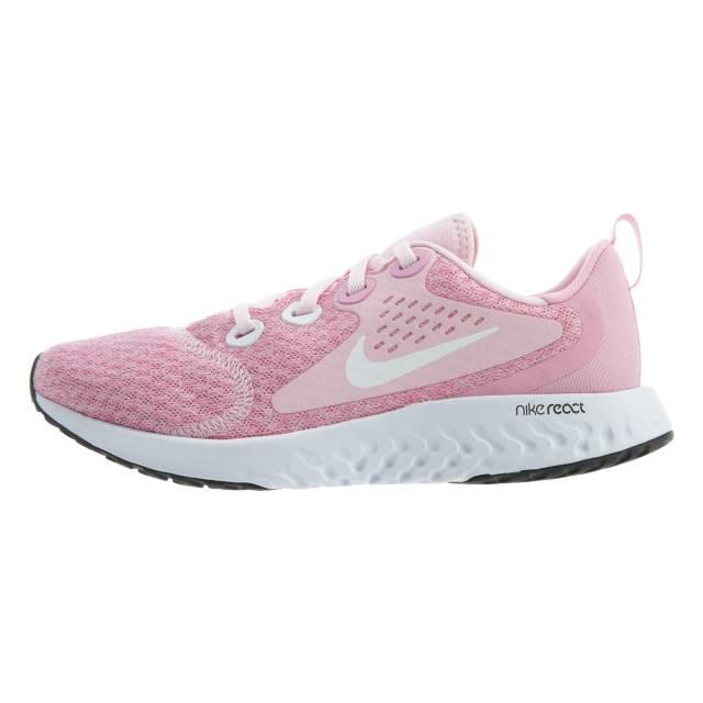 Nike Legend React GS Pink Running Shoes