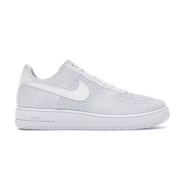 nike air force 1 flyknit low white
