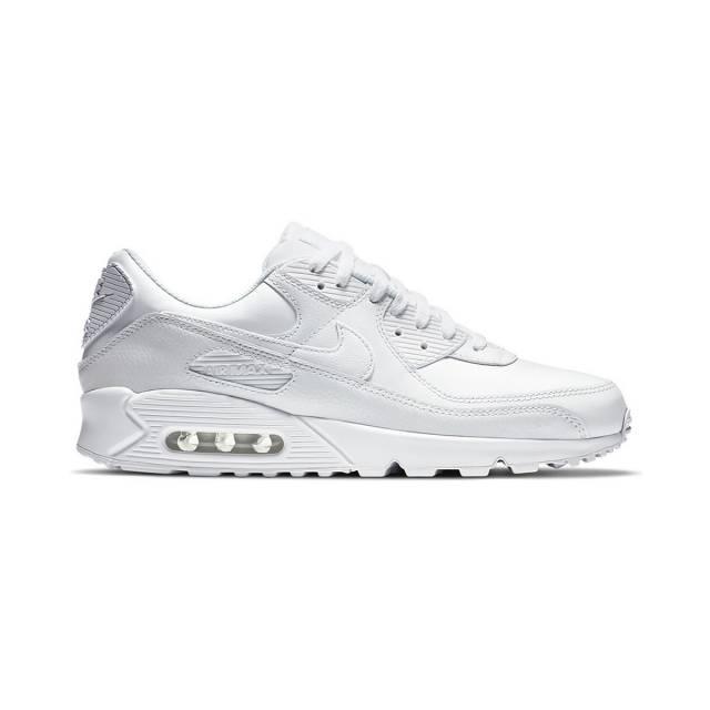 Nike Air Max 90 Leather (triple White/ White) Men Us 8-13