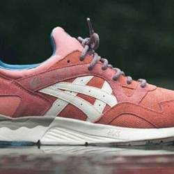 Ronnie fieg x asics rose gold ...